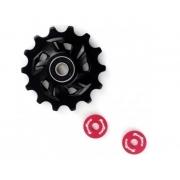 Roldana Inferior P/ Câmbio Traseiro Bike 14D Sunrace 11v ou 12v