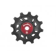 Roldana Superior P/ Câmbio Traseiro Bike 12D Sunrace 11v ou 12v