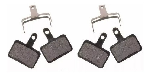 2 Pares - Pastilha Freio Disco High One B01s M315 M365 M446  - Calil Sport Bike