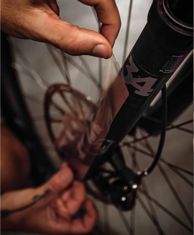 Adesivo Proteção Bicicleta NOMAD P/ Suspensão Transparente