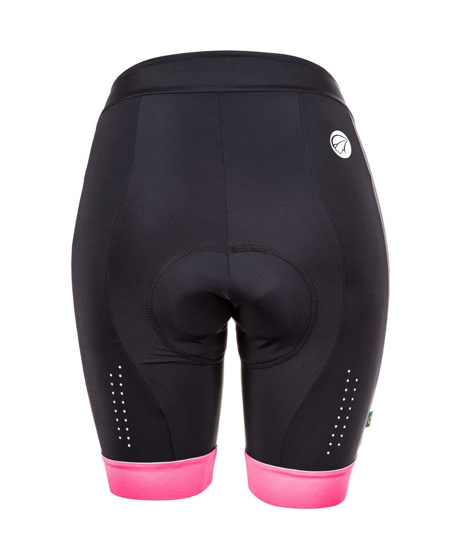 Bermuda Ciclismo Feminina Mauro Ribeiro Comfort Pink