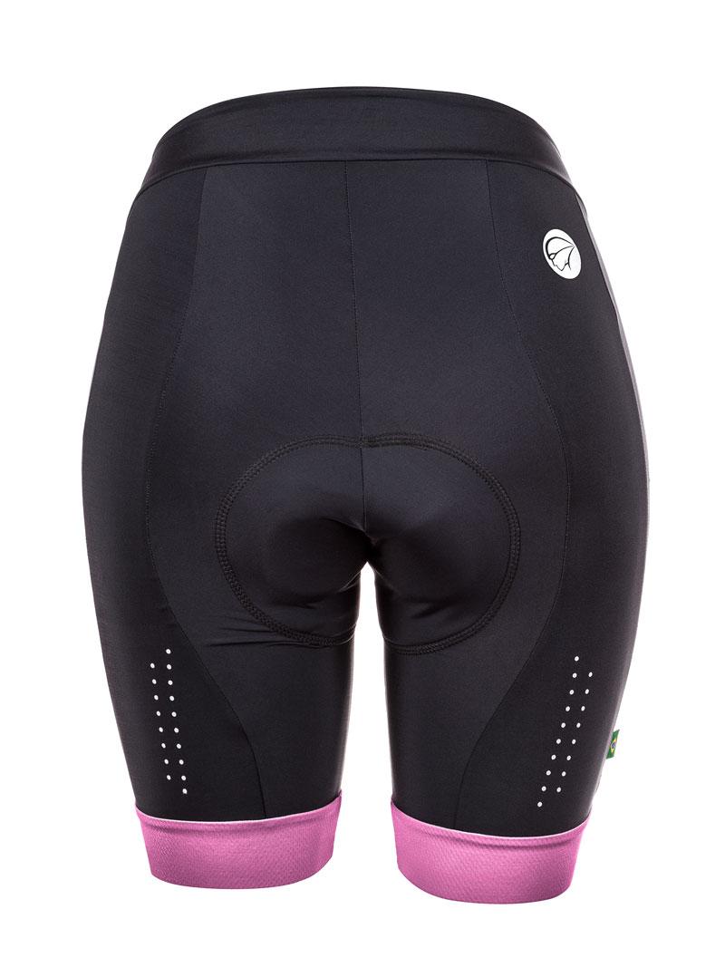 Bermuda Ciclismo Feminina Mauro Ribeiro Comfort - Roxa