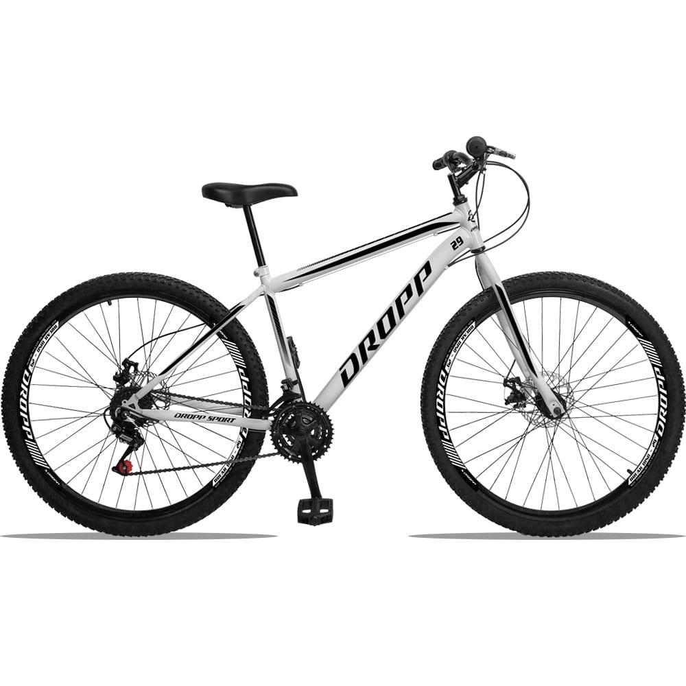 Bicicleta Aro 29 Dropp Sport Aço 21v Freio a Disco - Cores