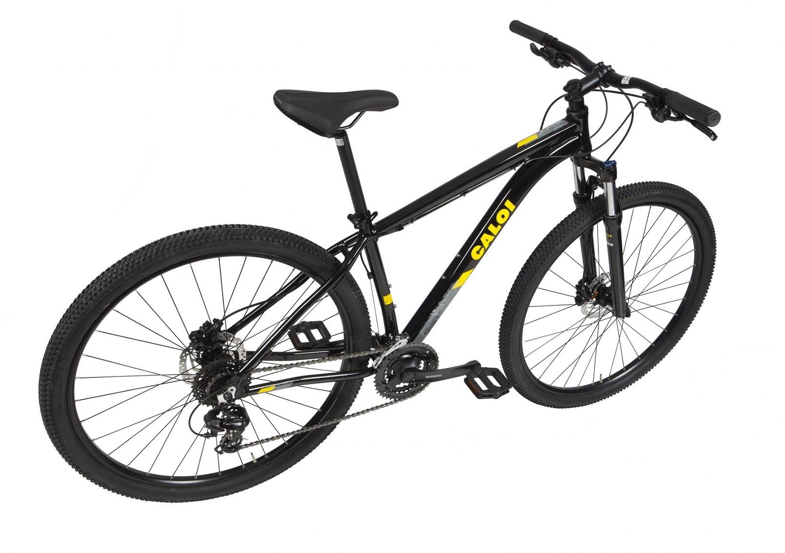 Bicicleta Aro 29 MTB Caloi Explorer Sport 24v 2021 - Preto