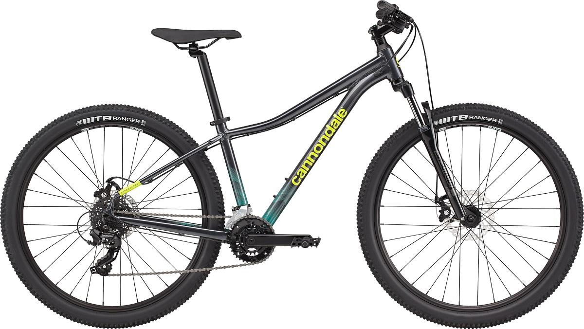 Bicicleta Aro 29 MTB Cannondale Trail 8 14v 2021 - Cinza / Verde
