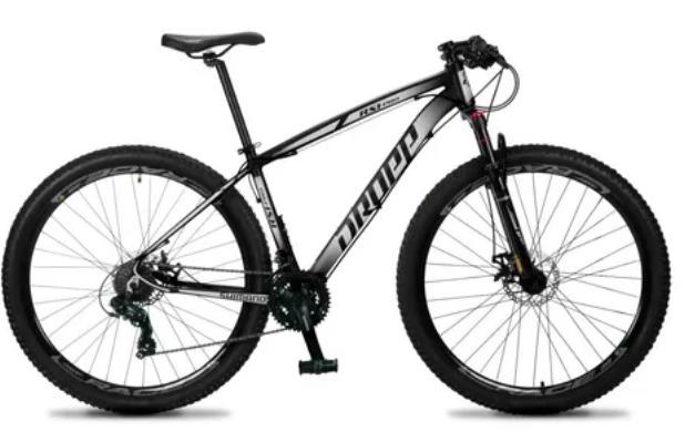 Bicicleta Aro 29 MTB Dropp RS1 Pro 27v Shimano Freio Hidráulico  - Cores