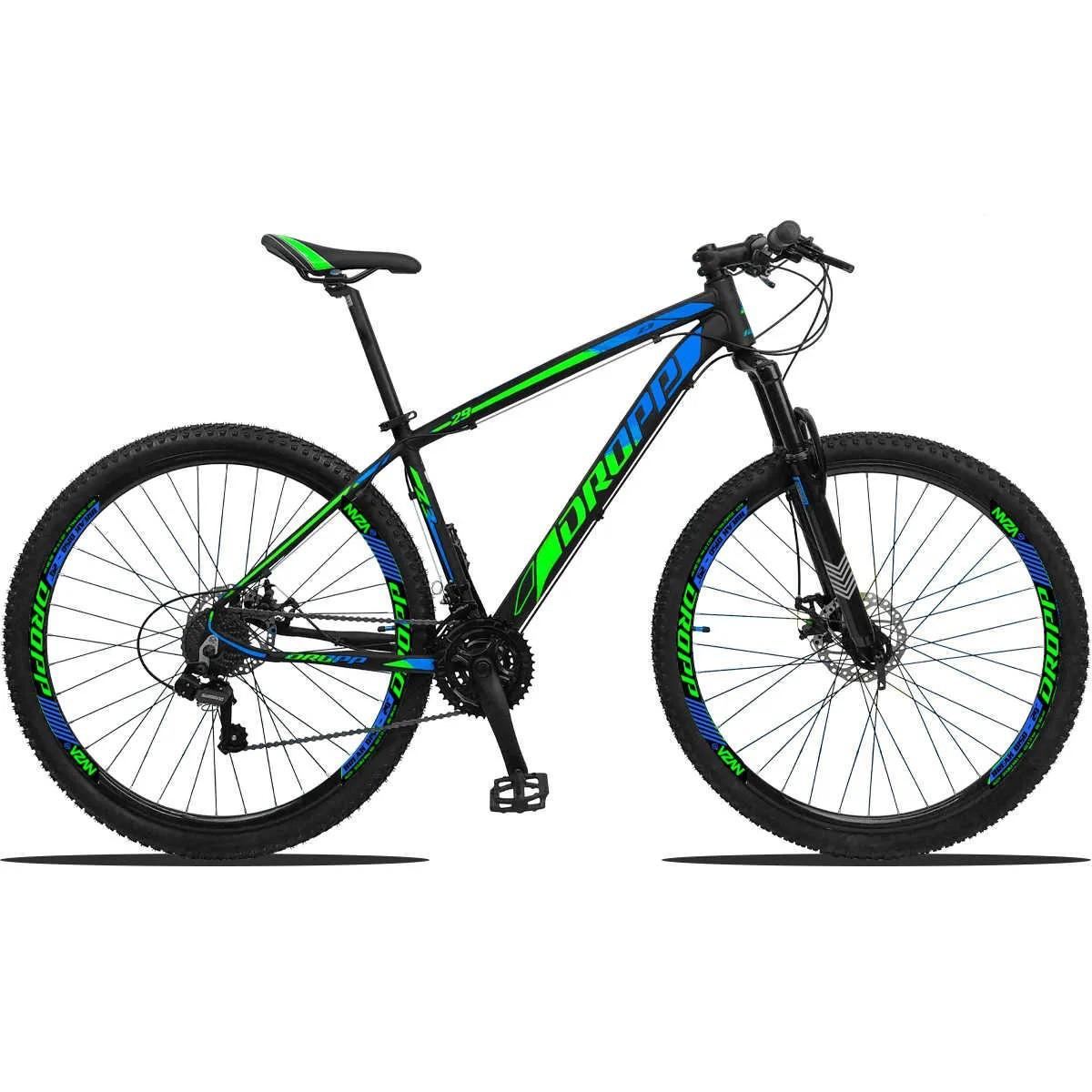 Bicicleta Aro 29 MTB Dropp Z3 21v Shimano Freio a Disco - Cores