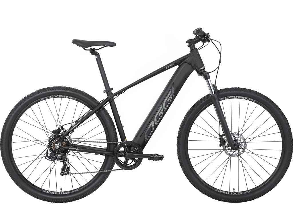 Bicicleta Aro 29 Oggi Big Wheel 8.0 E-Bike 2021 - Preto