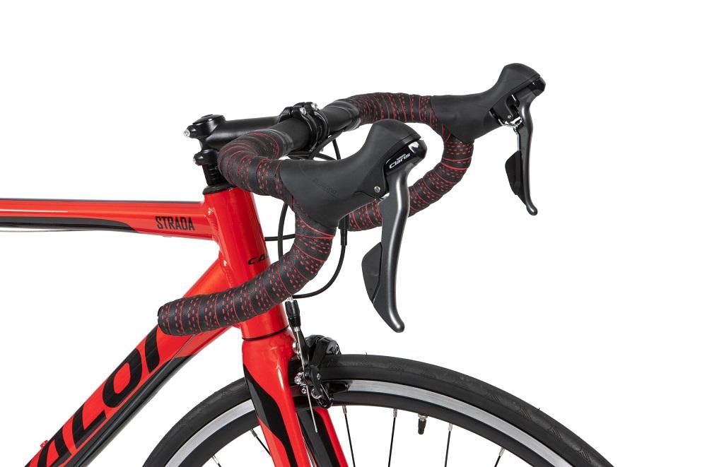 Bicicleta Aro 700 Speed Caloi Strada 2020 Claris 16v Vermelho