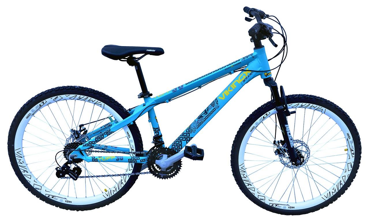 Bicicleta Freeride Passeio Viking 21v Aro 26 - Azul Claro