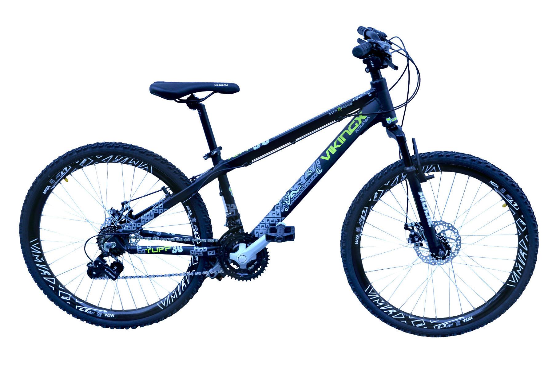 Bicicleta Freeride Passeio Viking 21v Aro 26 - Preto