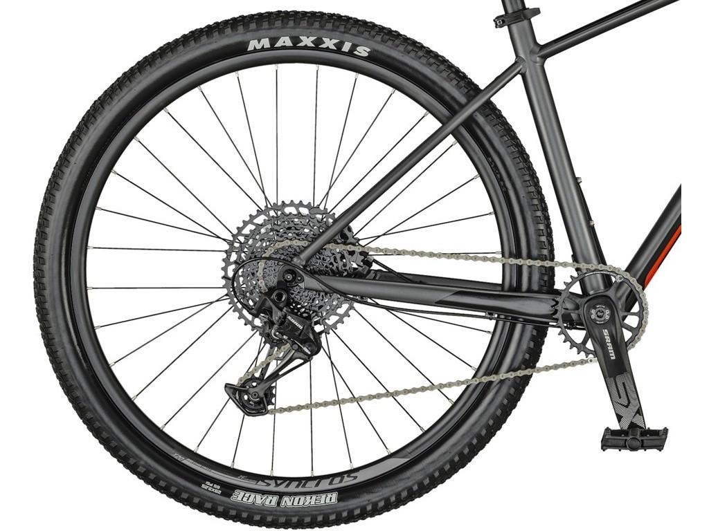 Bicicleta Mtb Aro 29 Scott Scale 970 Eagle 12v 2021 - Cinza / Vermelho