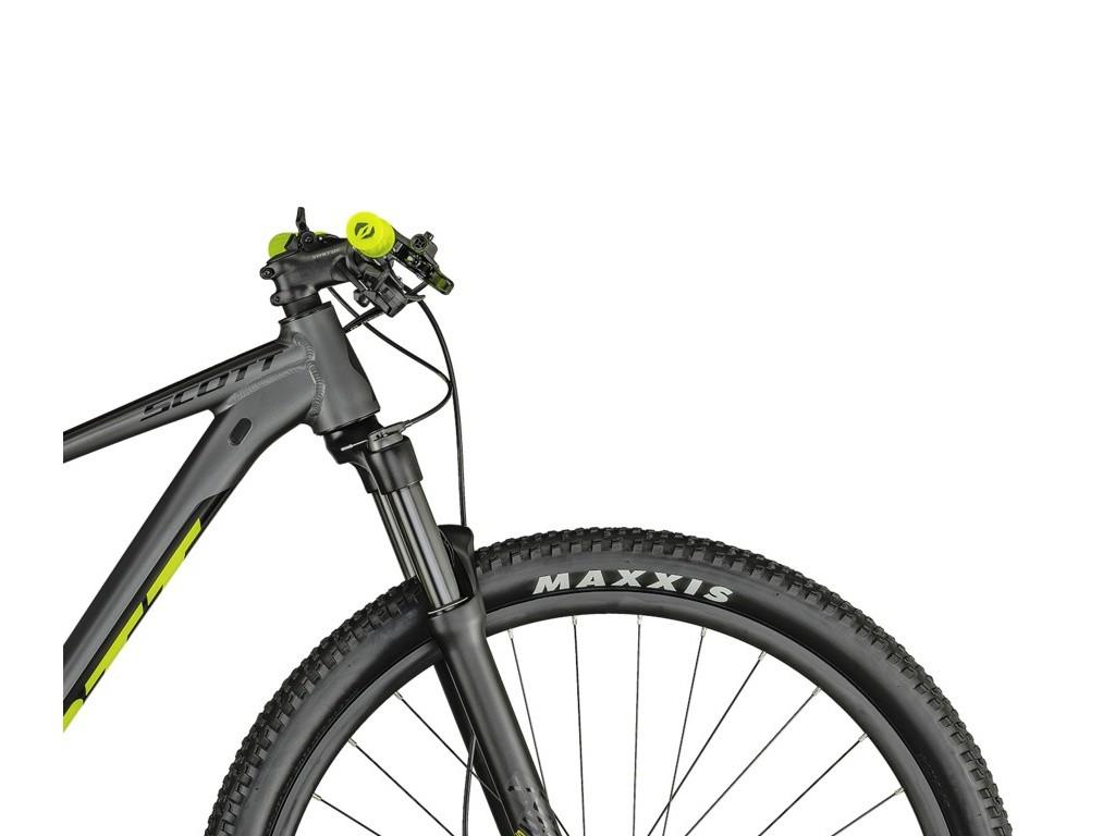 Bicicleta Mtb Aro 29 Scott Scale 980 Deore 12v 2021 - Cinza / Amarelo  - Calil Sport Bike
