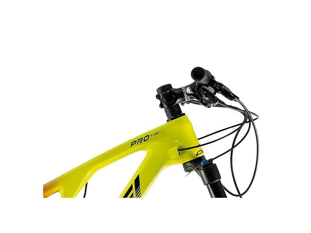 Bicicleta MTB Oggi Full Cattura Pro T-20 GX 2021 -  Amarelo / Vermelho
