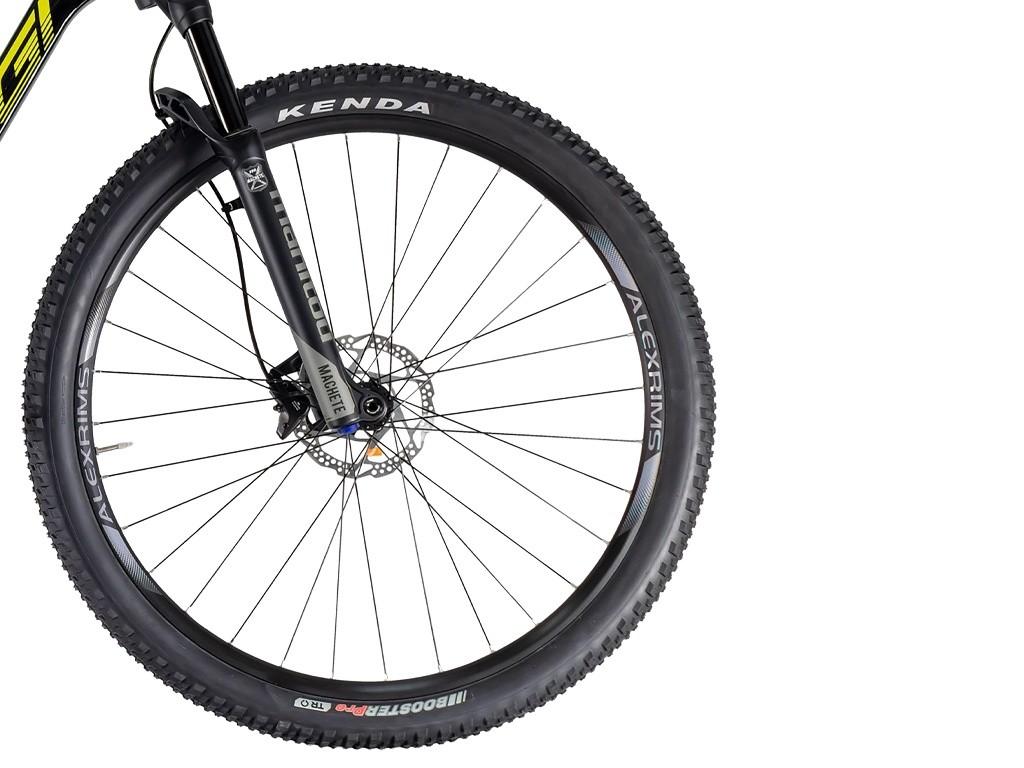 Bicicleta Aro 29 MTB Oggi Full Cattura Sport Carbon Deore 12v 2021 -  Preto / Amarelo