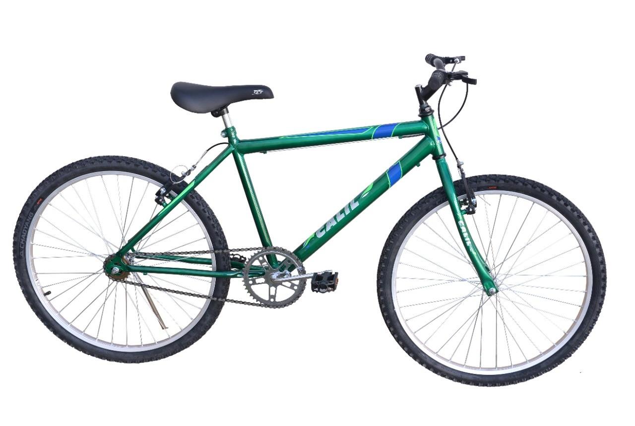 Bicicleta Passeio Calil Bike Aro 24 Sem Marcha - Verde