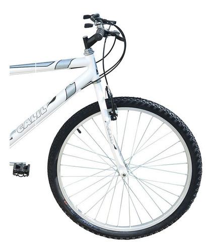 Bicicleta Passeio Calil Bike Aro 26 Com Marcha 21v Branco