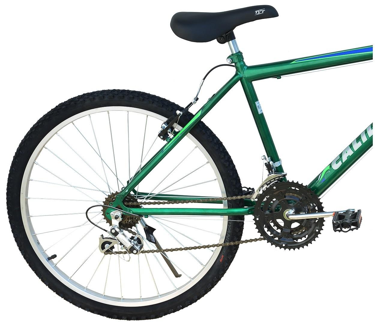 Bicicleta Passeio Calil Bike Aro 26 Com Marcha 21v Verde