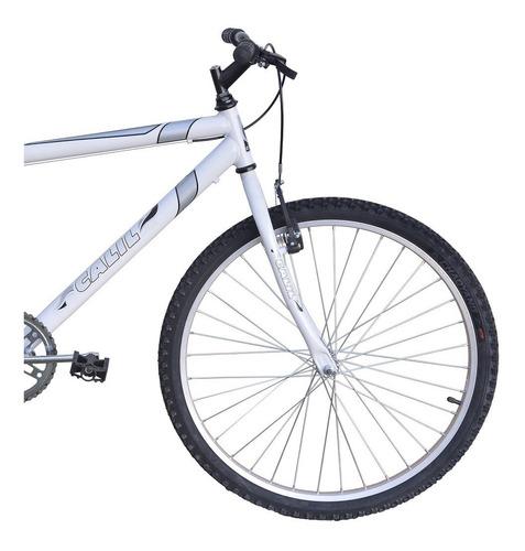 Bicicleta Passeio Calil Bike Aro 26 Sem Marcha - Branco