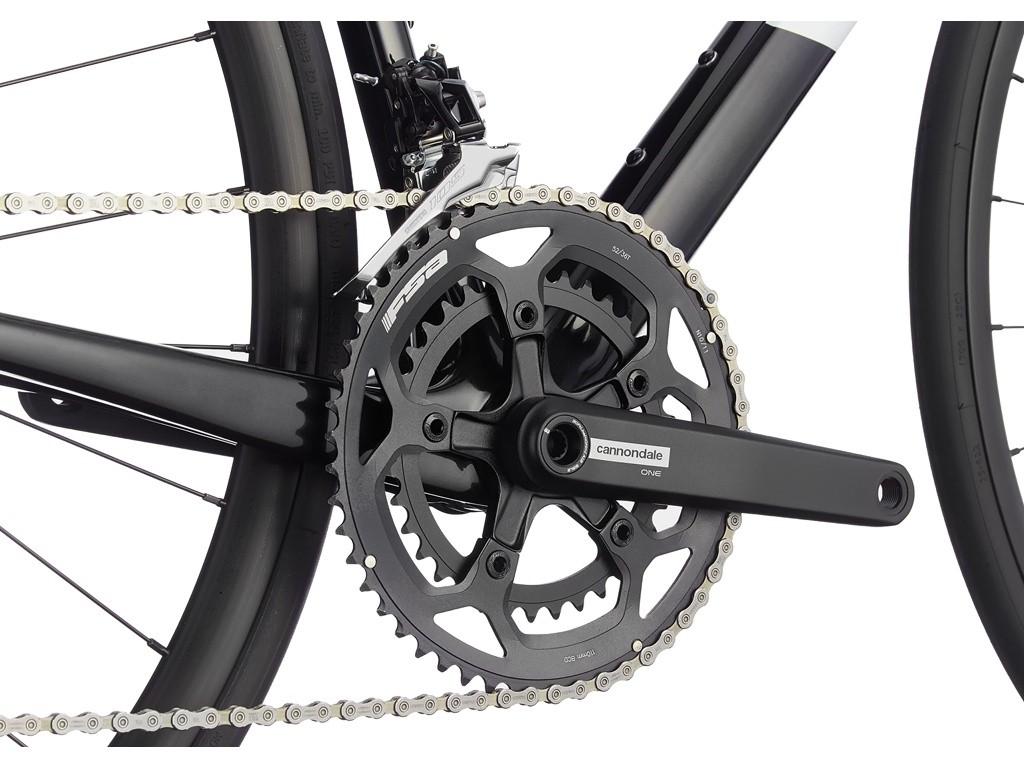 Bicicleta Speed Cannondale SuperSix Evo Carbon Shimano 105 2021 - PRETO
