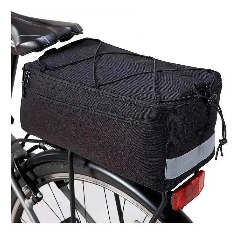 Bolsa De Bagageiro Bike Skin Sport Trunk 8 litros Térmica