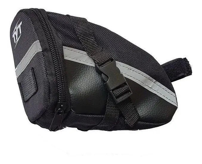 Bolsa De Selim Bicicleta Bike Mtb Speed TYT Preto  - Calil Sport Bike