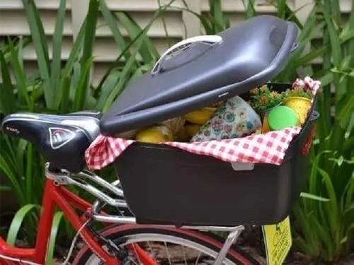 Box Bike Kalf Baú Para Bicicletas Bauleto