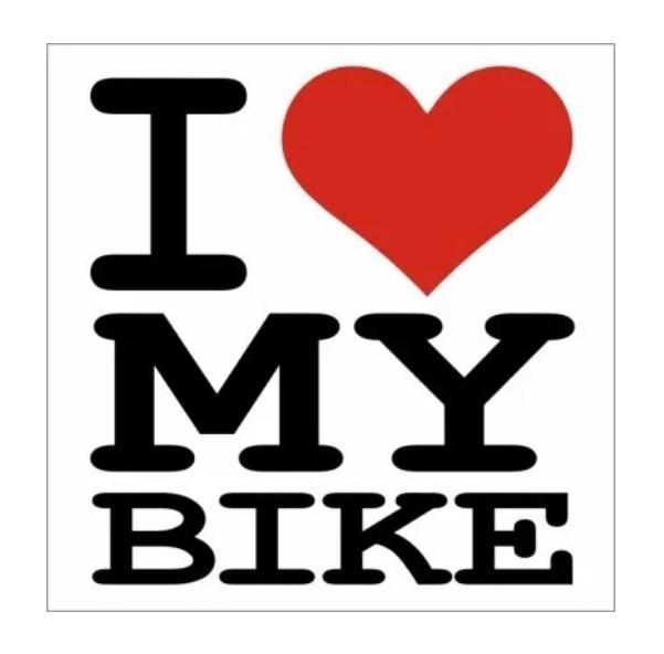 Buzina Campainha I Love My Bike Trim-Trim - Preto