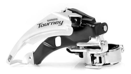 Cambio Dianteiro Shimano Tourney FD-TY500 P/ 42D 34.9mm Dual Pull  - Calil Sport Bike