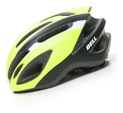 Capacete Bicicleta Ciclismo Bell Crest R Amarelo Neon Verde