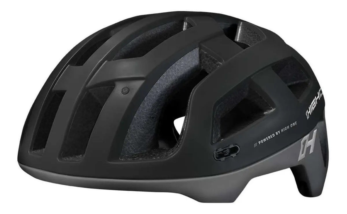 Capacete Bicicleta Enduro Mtb High One Cervix - Cinza