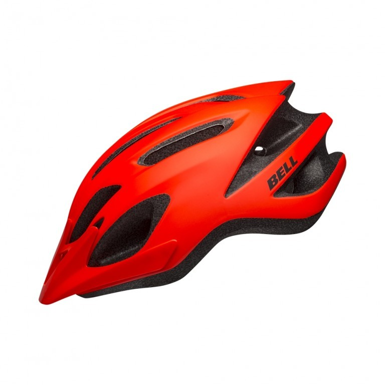 Capacete Bicicleta MTB Bell Crest R - Laranja Neon  - Calil Sport Bike