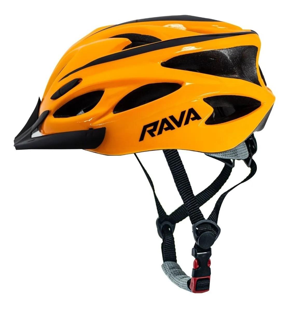 Capacete Ciclismo MTB RAVA TSW Space New - Laranja  - Calil Sport Bike