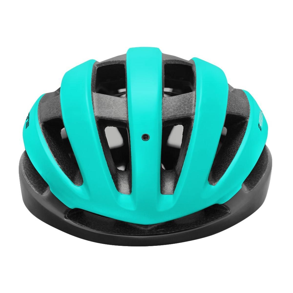 Capacete Ciclismo MTB Speed High One Wind Aero - Preto / Azul