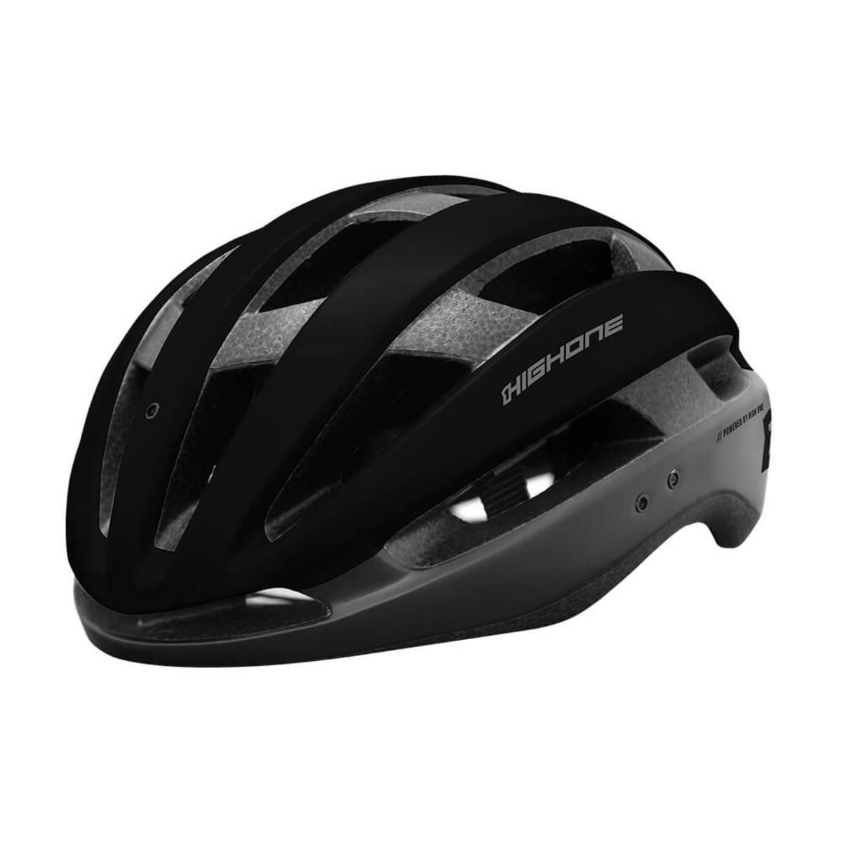 Capacete Ciclismo MTB Speed High One Wind Aero - Preto / Cinza