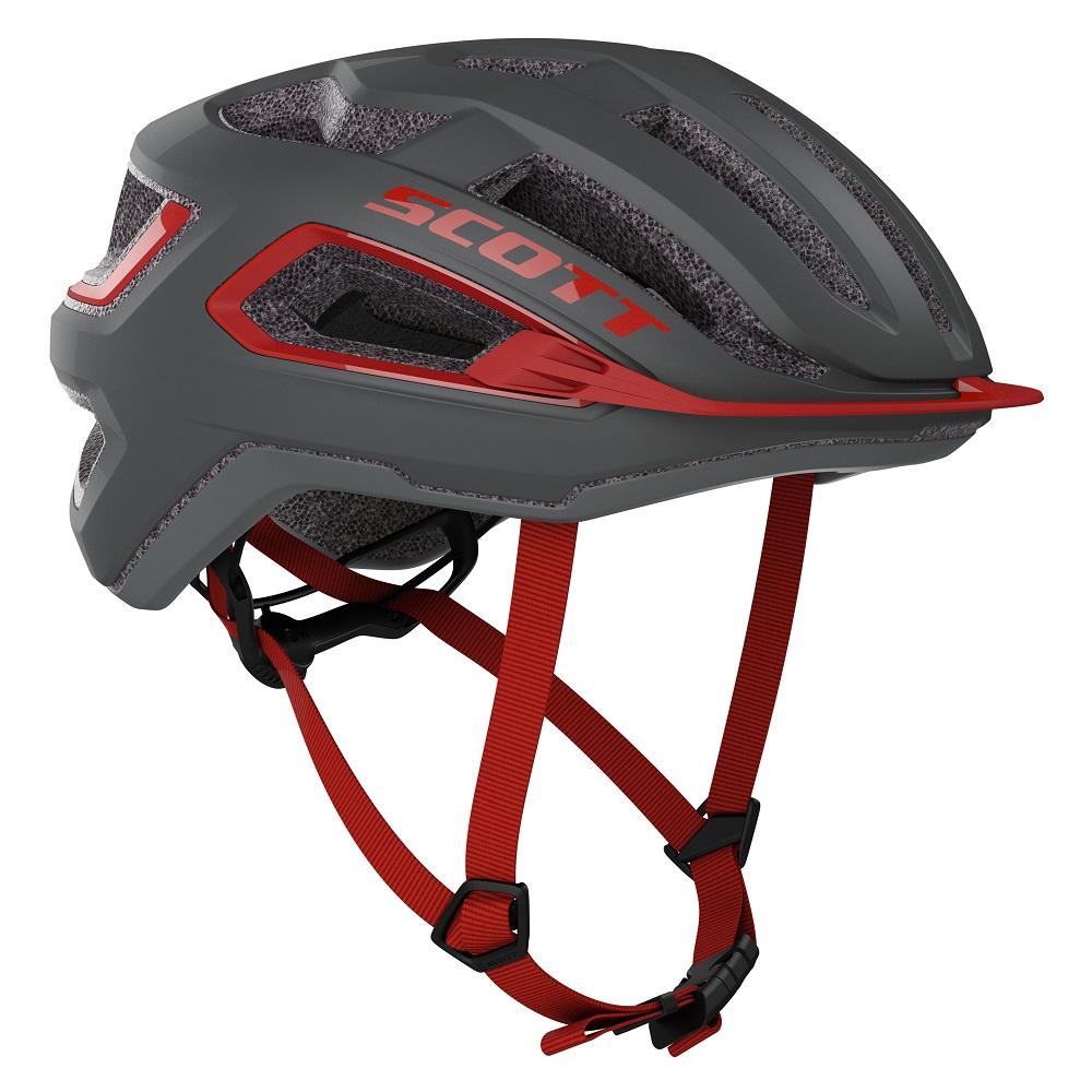 Capacete Ciclismo MTB Speed Scott Mtb Arx (ce) 2021 - Cinza Vmo