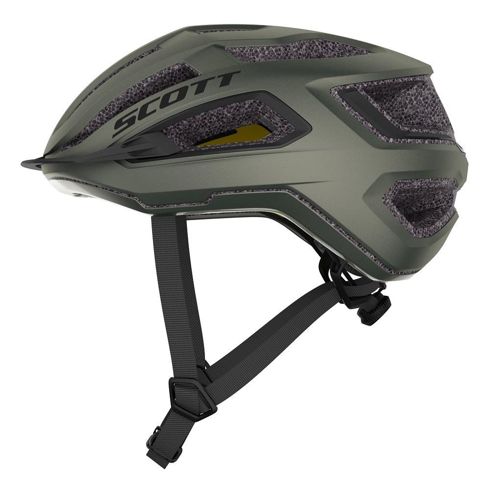 Capacete Ciclismo MTB Speed Scott Mtb Arx Plus MIPS 2021 - Verde Musgo