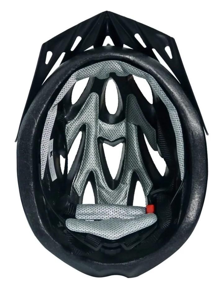 Capacete Ciclismo MTB TSW Rava New Space - Preto / Azul  - Calil Sport Bike