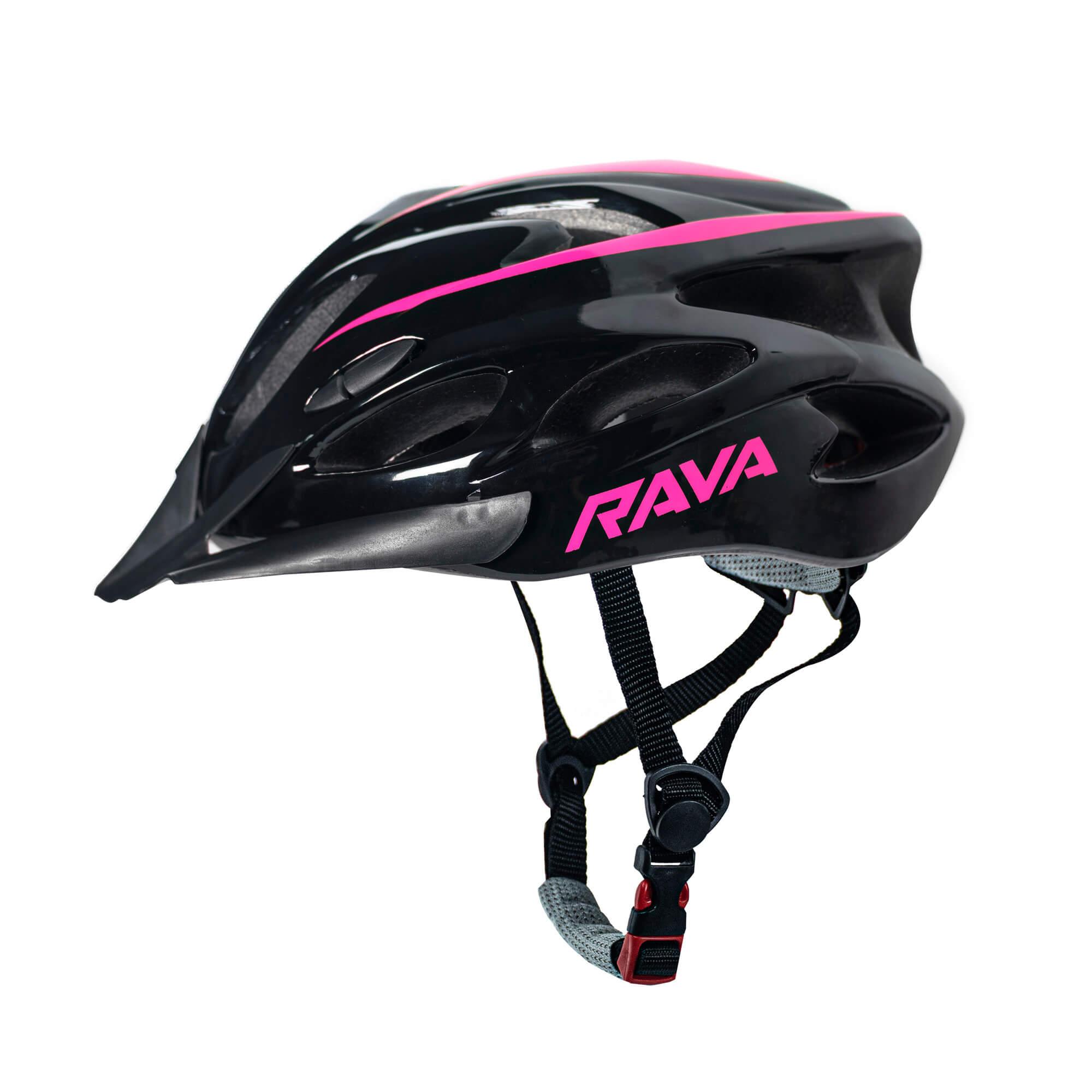 Capacete Ciclismo MTB TSW Rava New Space - Preto / Pink