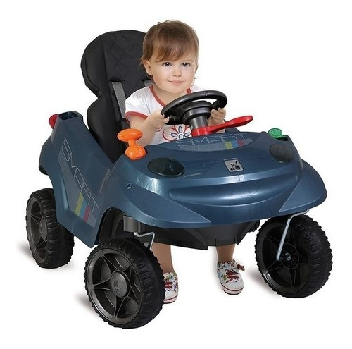 Carrinho Smart Baby Comfort Passeio Bandeirante Azul 535
