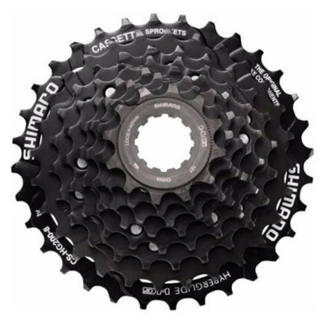 Cassete Bicicleta MTB Shimano HG200 9v 11/36 Altus