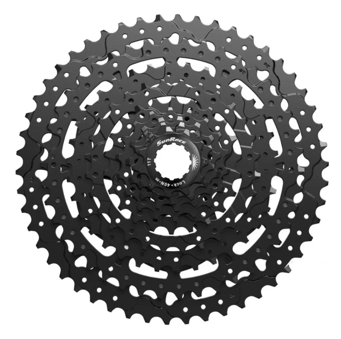 Cassete Bike MTB Sunrace 9v 11/50 M983 Super Cog 11x50d 1x9v