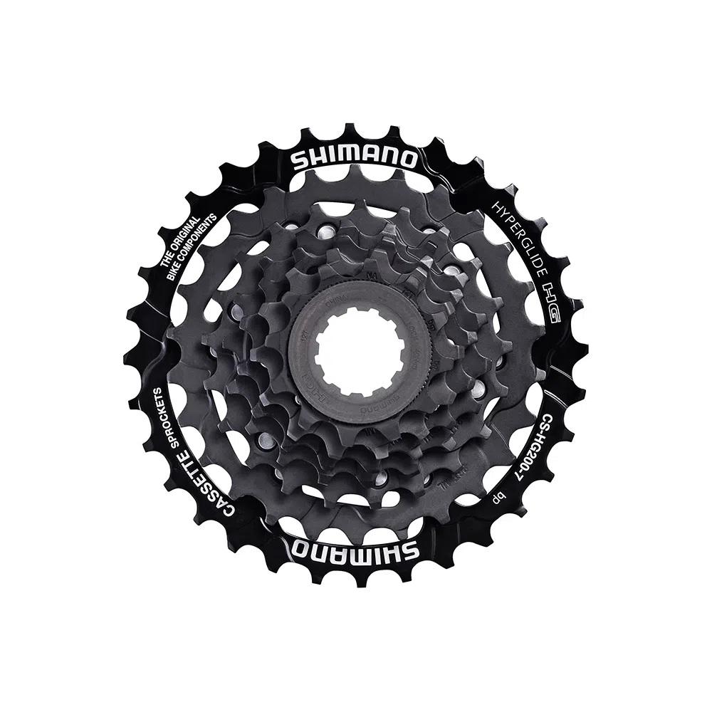 Cassete k7 Bicicleta MTB Shimano HG200 7v 12/32D