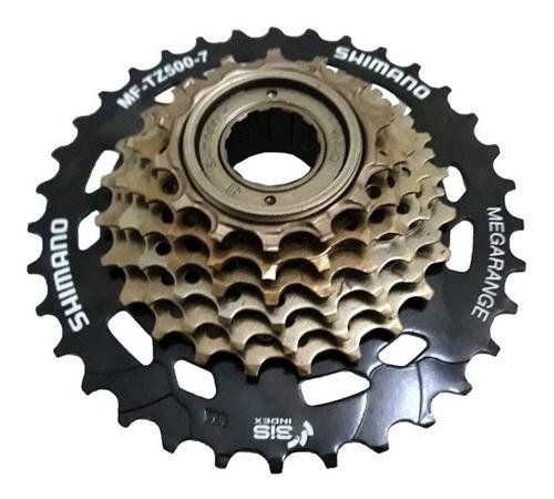 Catraca Shimano Tz500 7v 14-34 Mtb 470g  - Calil Sport Bike