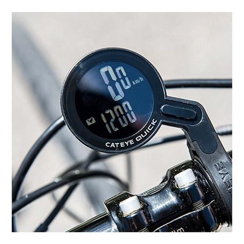 Ciclo Computador Cateye Quick Cc-rs100w Wireless - Preto  - Calil Sport Bike