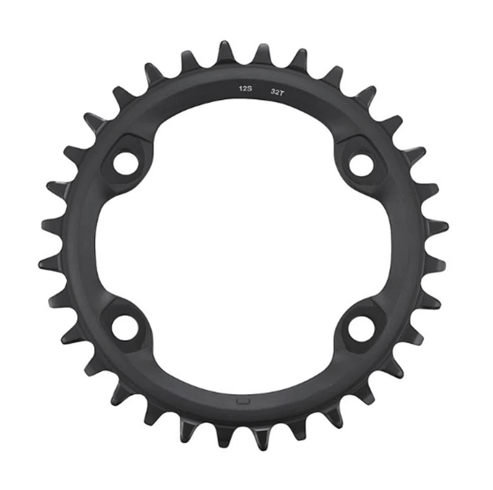Coroa Bike Shimano MT610 32 Dentes 12v Bcd 96mm Assimétrico