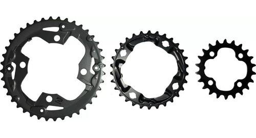 Coroas De Reposição Do Pedivela Acera 3x9v Mt-300 22/30/40  - Calil Sport Bike