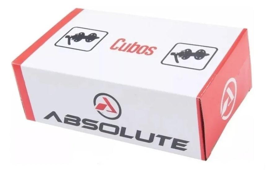 Cubo Absolute Wild Disco Rolamento Preto Cassete 32f Ou 36f