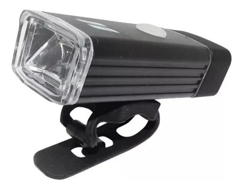 Farol Bicicleta High One Luz Led Sinalizador 180l Usb Preto  - Calil Sport Bike