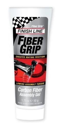 Gel Para Montagem Peças Bicicleta Finish Line Fiber Grip 50g